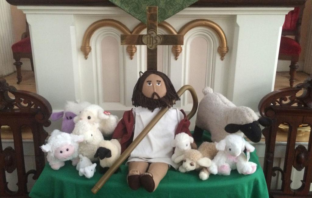 Jesus and Flock
