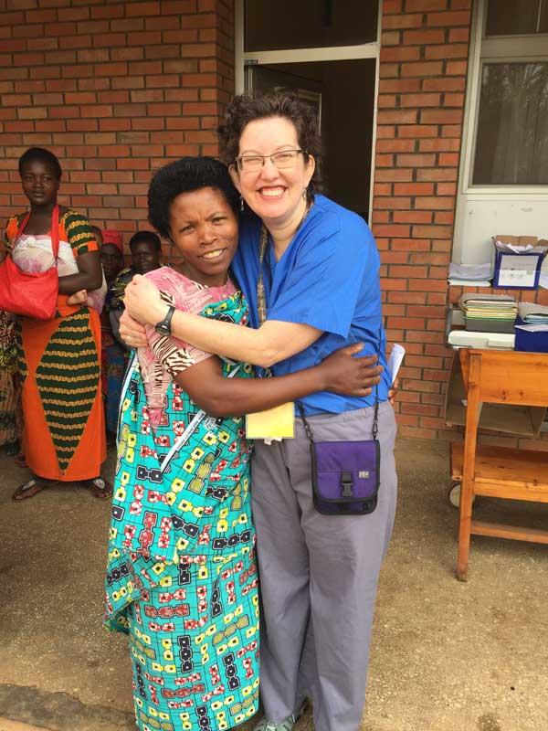 Leah in Rwanda