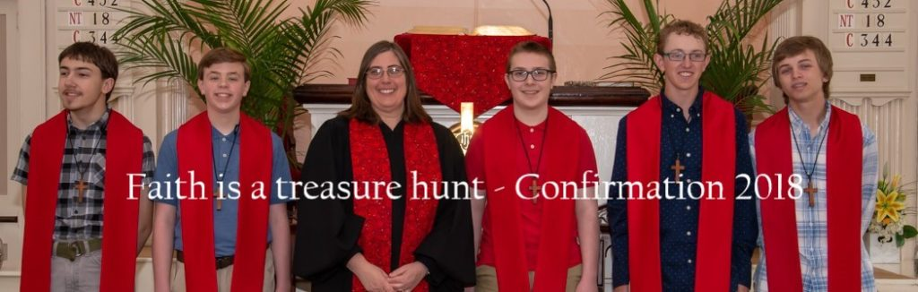 Faith is a Treasure Hunt - Confirmation 2018