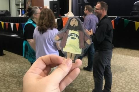 Flat Jesus at the Tri-Conference UCC Annual Meeting