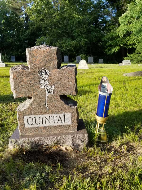 Flat Jesus visits Grampy Quntal