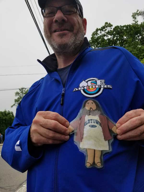 Flat Jesus at the North Attleboro Memorial Day Parade