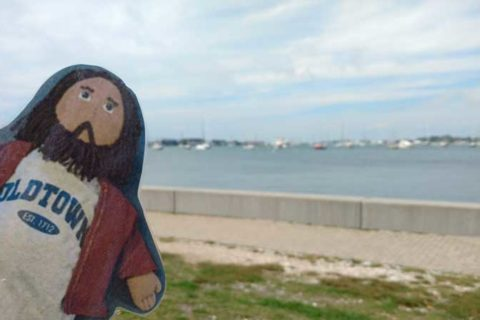 Flat Jesus Takes On Newport