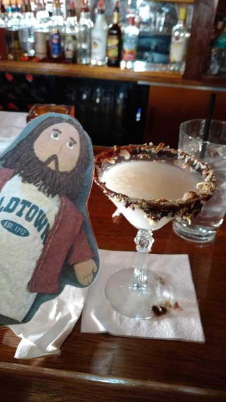 Flat Jesus Takes On Newport