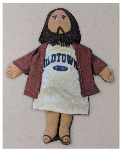 Flat Oldtown Jesus