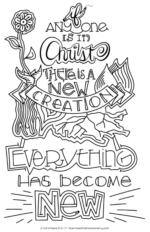 If Anyone Is In Christ, There Is A New Creation. Everything Has Become New.