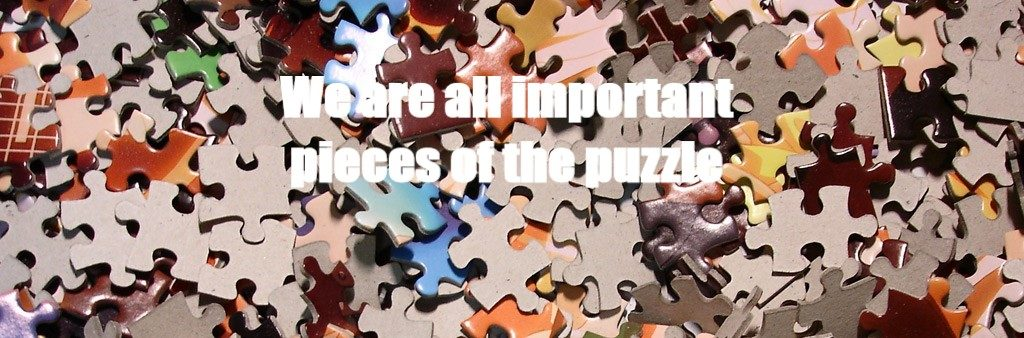 We Are All Important Pieces of the Puzzle