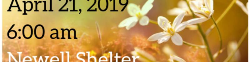 2019 Easter Sunrise Service